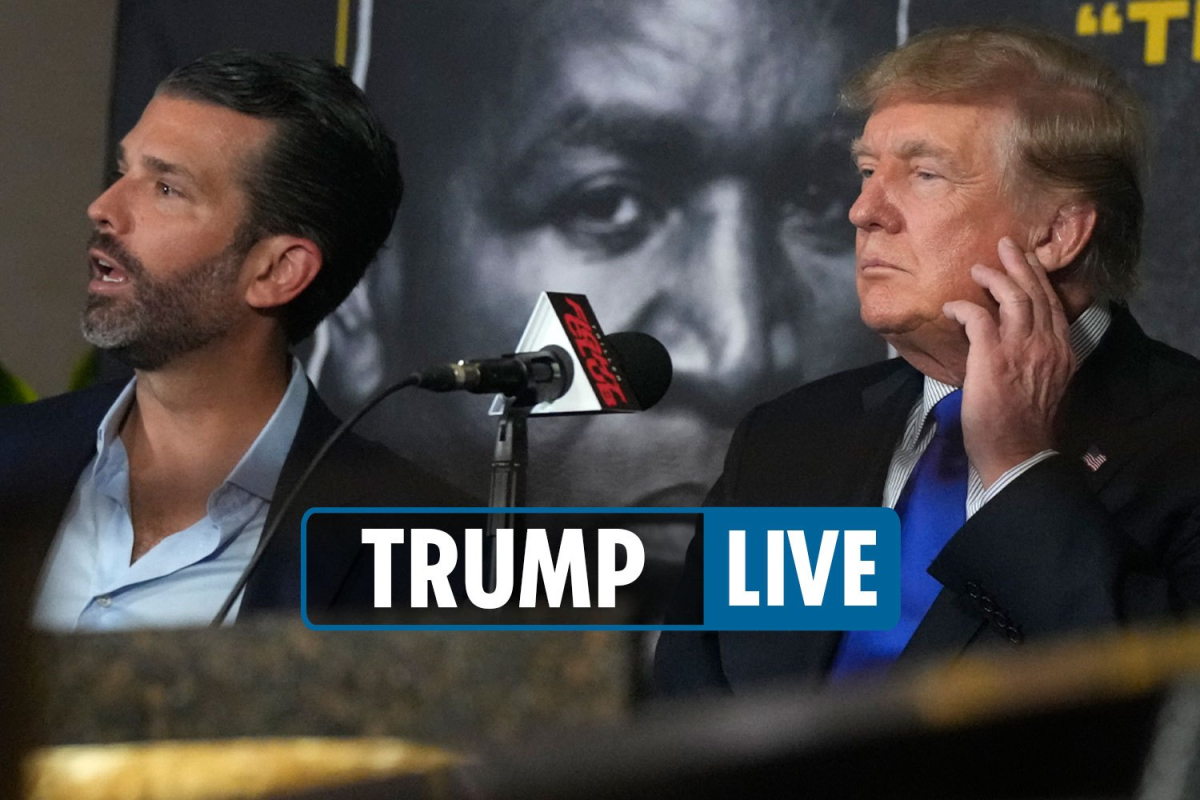 Trump boxing match today LIVE – Fight on 9/11 saw Don arrive to cheers before Evander Holyfield versus Vitor Belfort