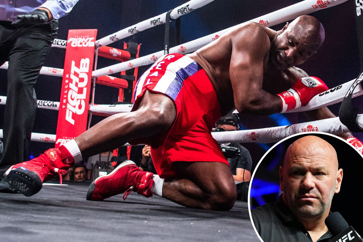 UFC chief Dana White trashes 'silly' Triller event after Evander Holyfield's comeback and Anderson Silva's brutal KO
