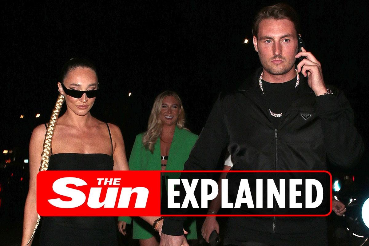 Who is Megan McKenna's boyfriend Josh Riley?