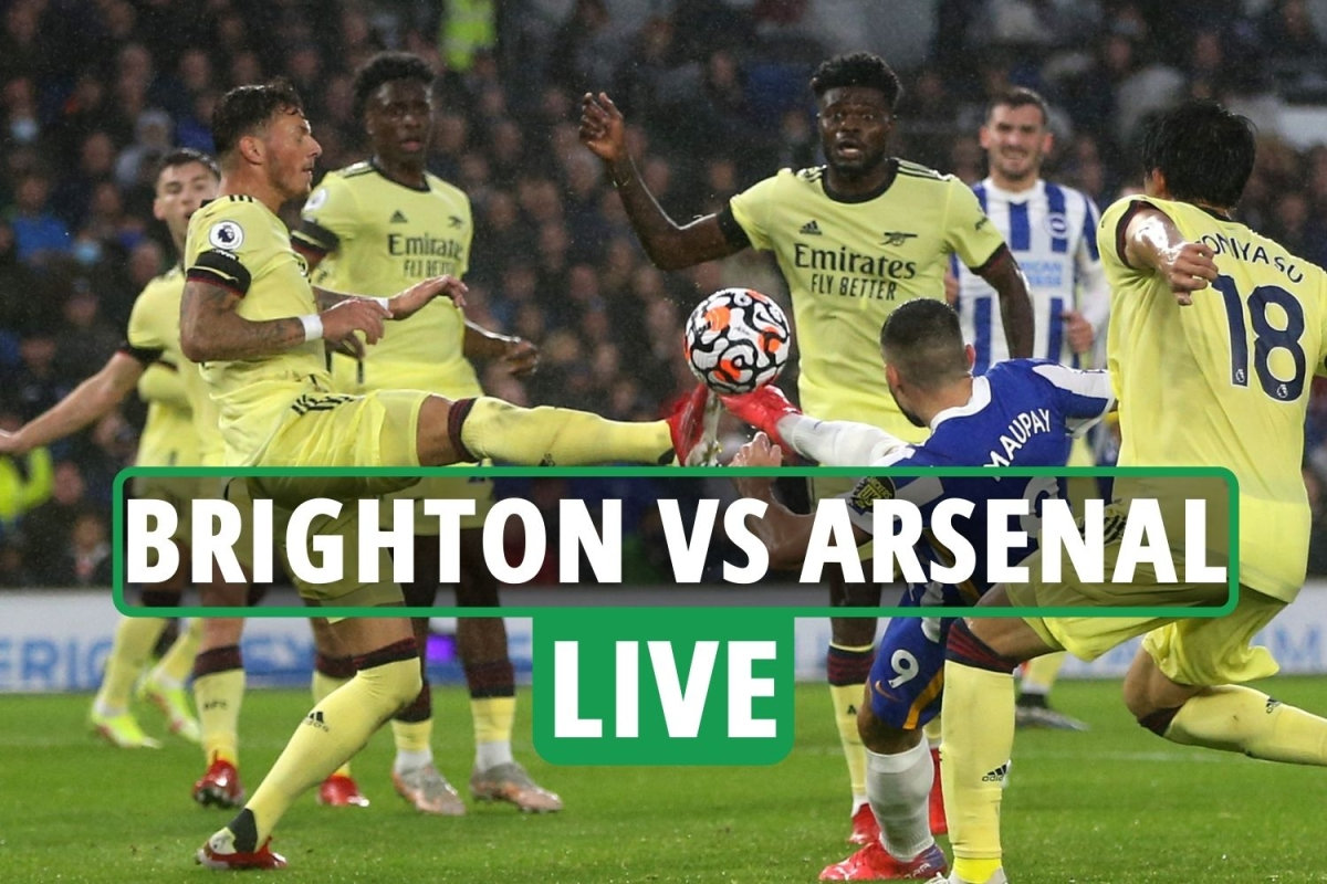 Brighton vs Arsenal LIVE: Stream, score, TV channel with Seagulls dominating but cannot convert – latest updates