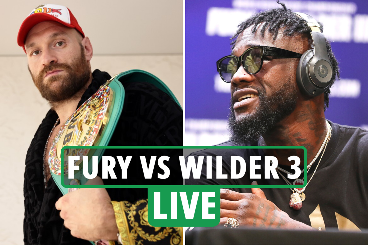 Fury vs Wilder 3 build-up LIVE: Latest news and updates as Gypsy King & Bronze Bomber make Vegas grand arrivals
