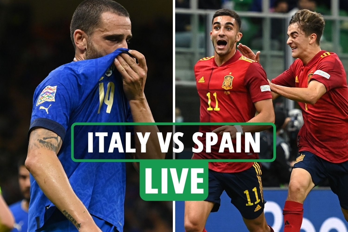 Italy vs Spain LIVE: Stream, score, TV channel – Torres stars as 10-man Italy's long unbeaten run hangs in balance