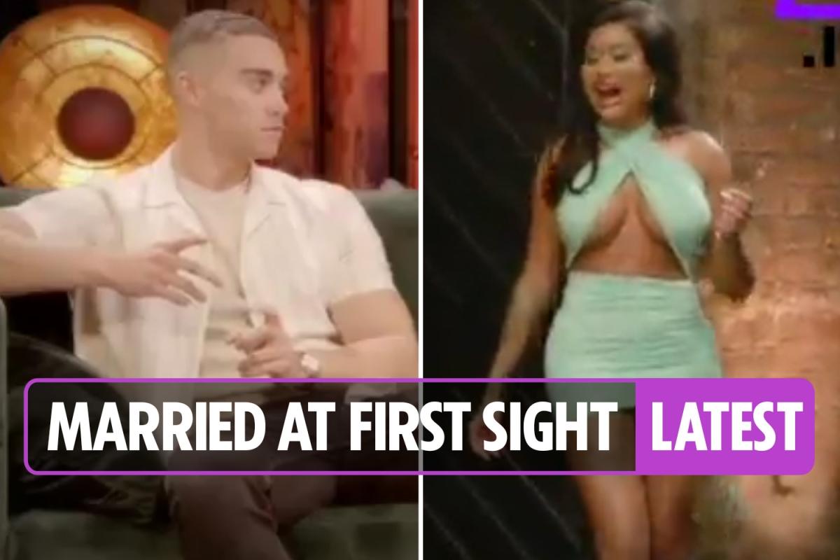 Married at First Sight UK 2021 – Nikita makes sensational return as Morag rages at Luke in explosive reunion show